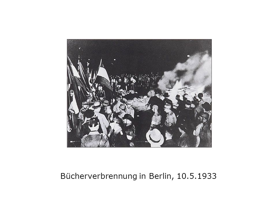 Bücherverbrennung in Berlin, 10.5.1933