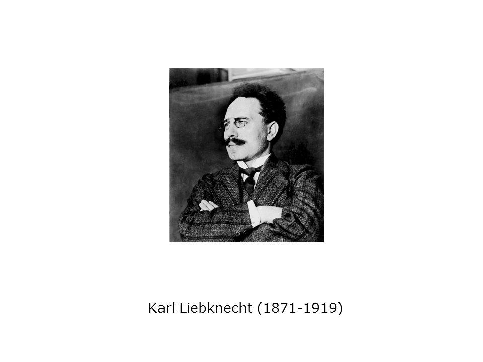 Karl Liebknecht (1871-1919)