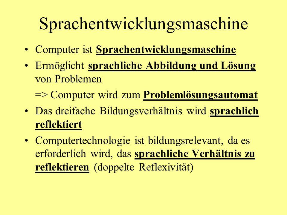 Sprachentwicklungsmaschine