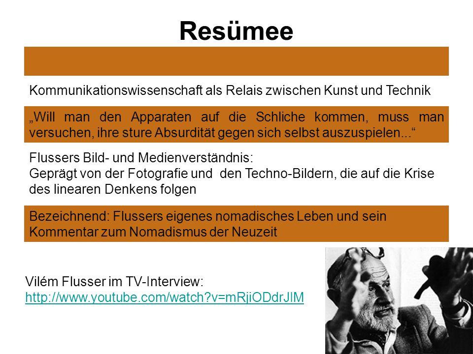 Resümee Kommunikationswissenschaft als Relais zwischen Kunst und Technik.