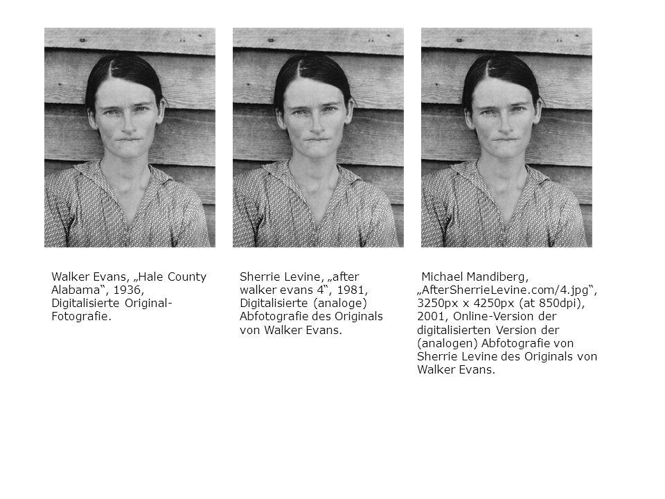 "Walker Evans, ""Hale County Alabama , 1936, Digitalisierte Original-Fotografie."