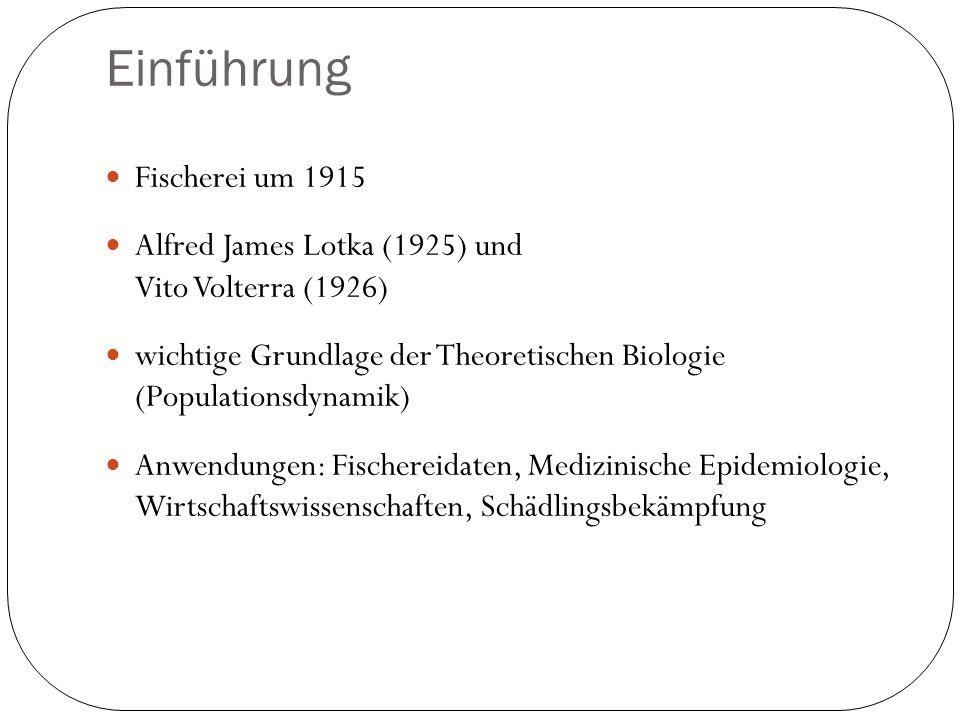 Einführung Fischerei um 1915