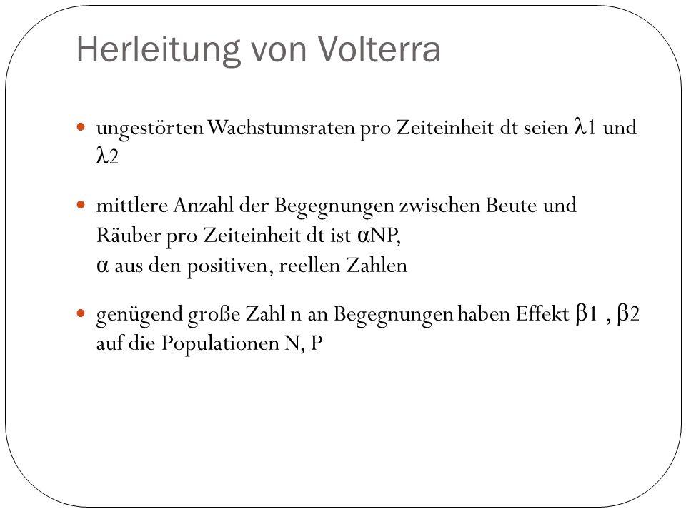 Herleitung von Volterra
