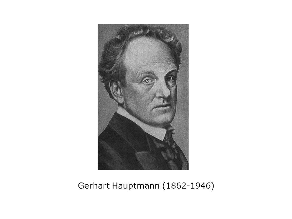 Gerhart Hauptmann (1862-1946)