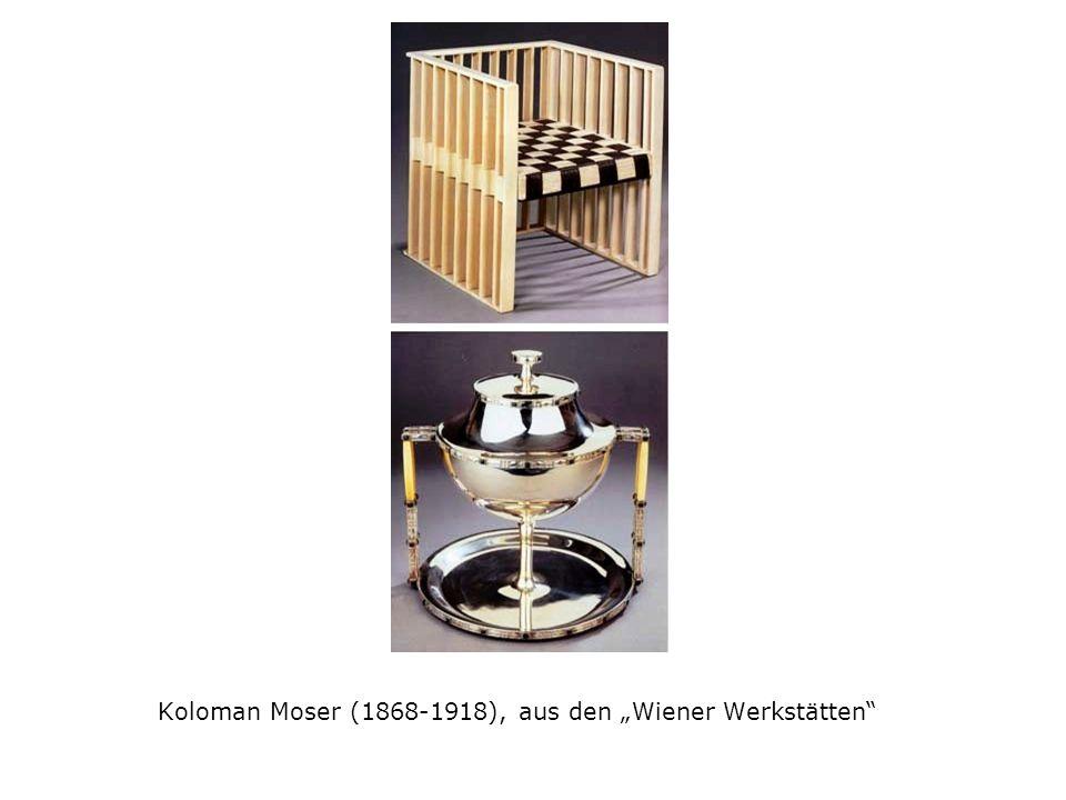 "Koloman Moser (1868-1918), aus den ""Wiener Werkstätten"