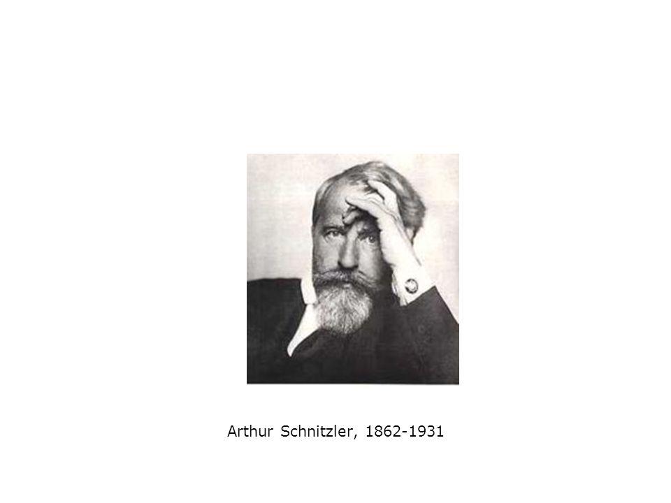 Arthur Schnitzler, 1862-1931