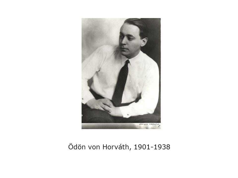 Ödön von Horváth, 1901-1938
