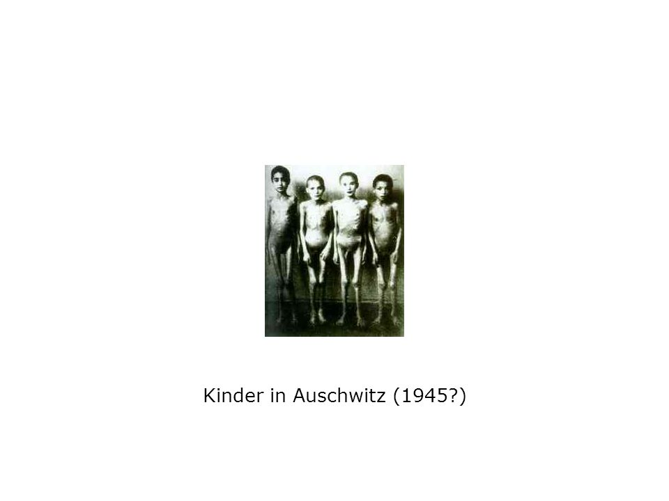 Kinder in Auschwitz (1945 )