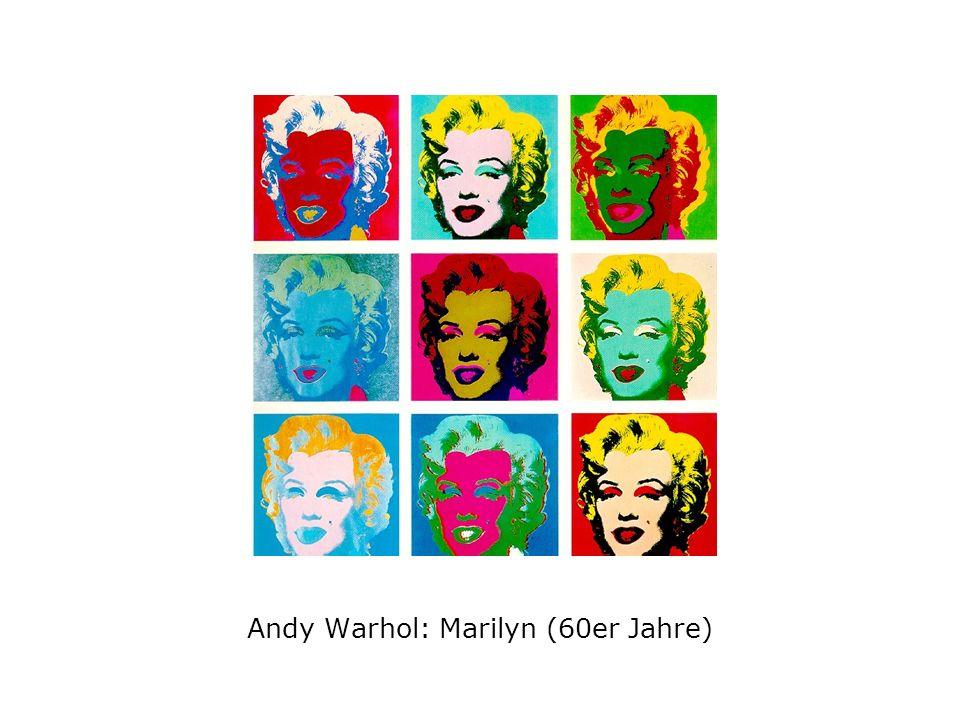 Andy Warhol: Marilyn (60er Jahre)