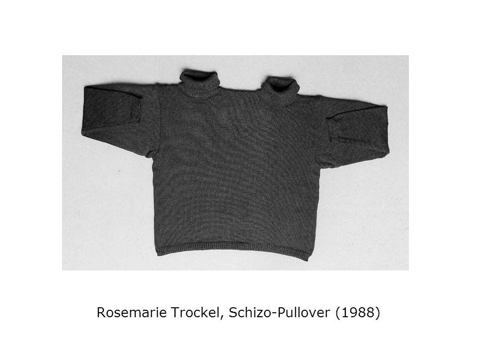 Rosemarie Trockel, Schizo-Pullover (1988)