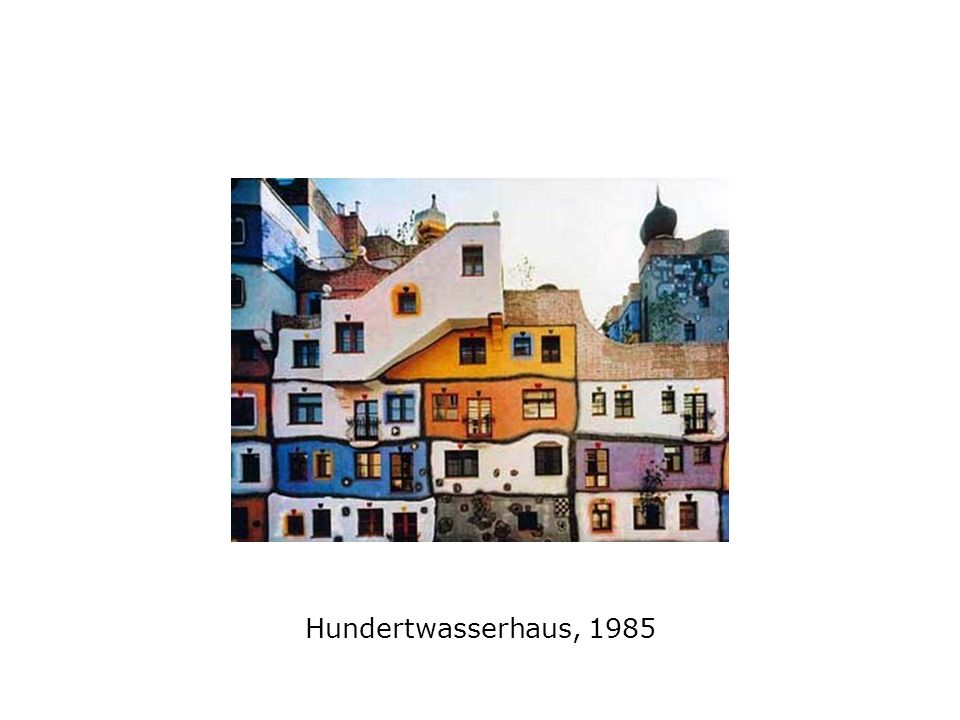 Hundertwasserhaus, 1985