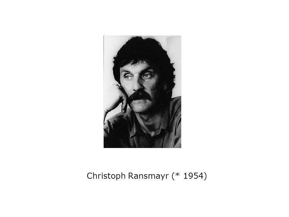 Christoph Ransmayr (* 1954)