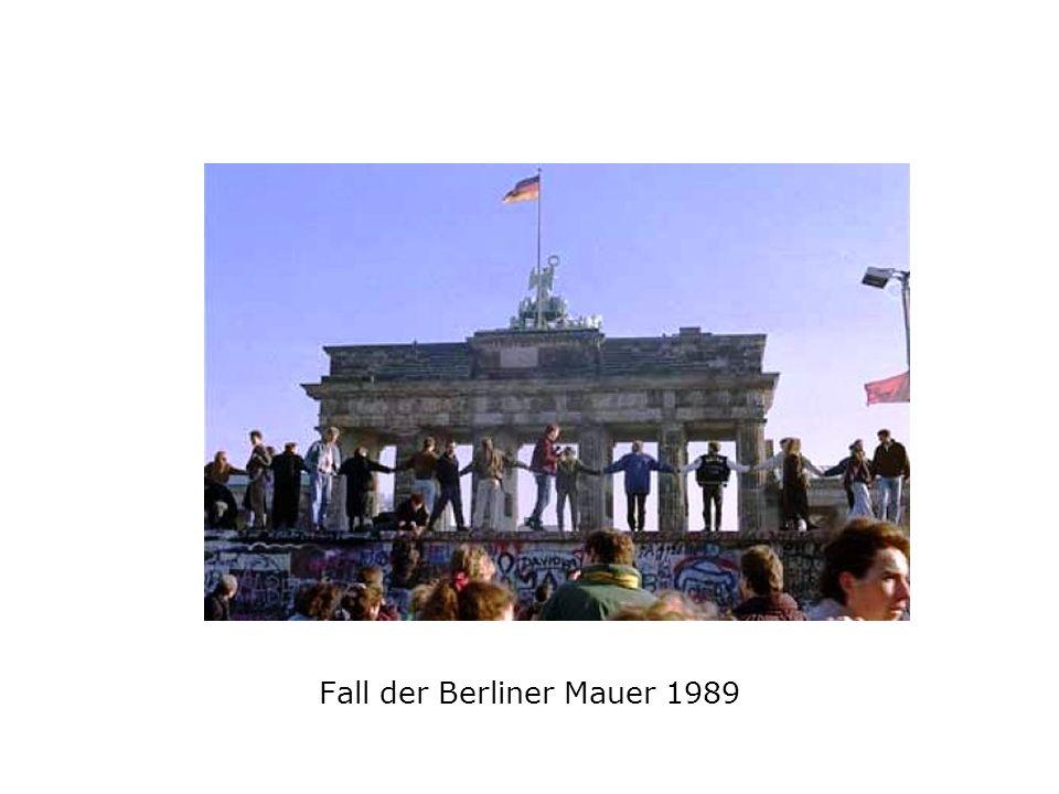 Fall der Berliner Mauer 1989