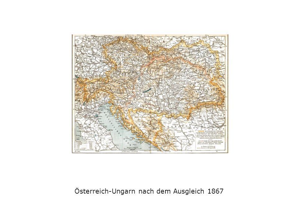 Österreich-Ungarn nach dem Ausgleich 1867