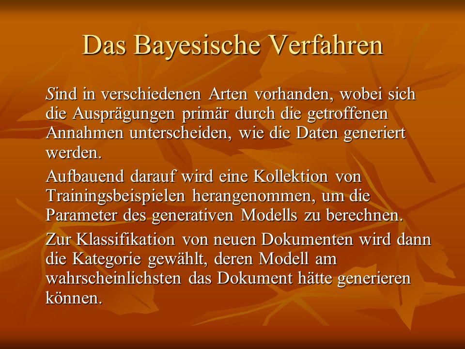 Das Bayesische Verfahren