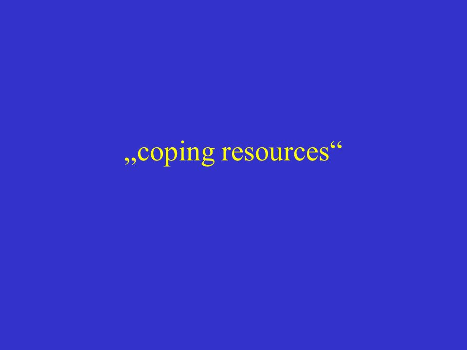 """coping resources"