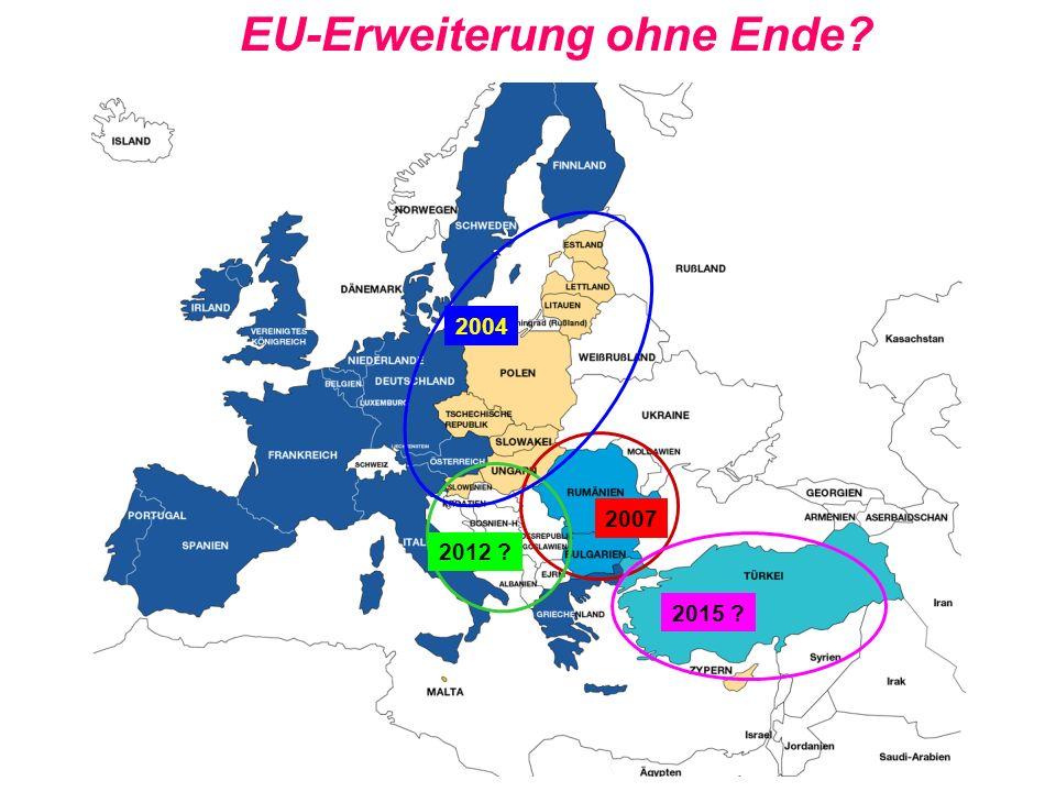EU-Erweiterung ohne Ende