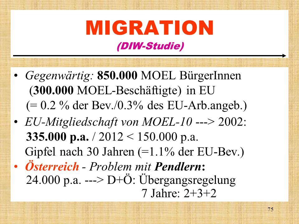 MIGRATION (DIW-Studie)
