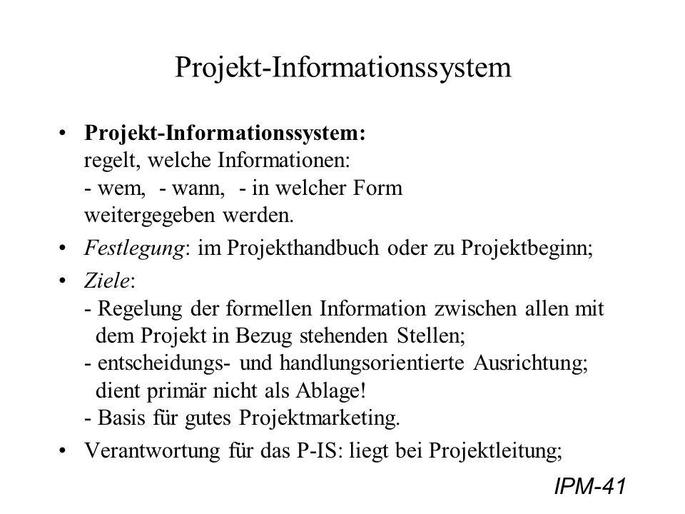 Projekt-Informationssystem