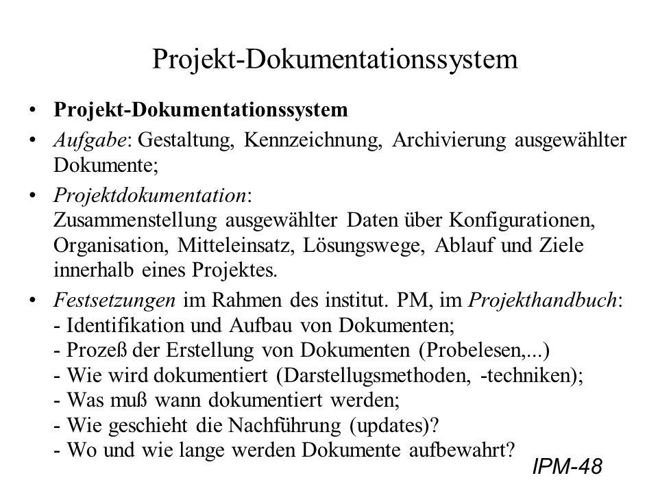 Projekt-Dokumentationssystem