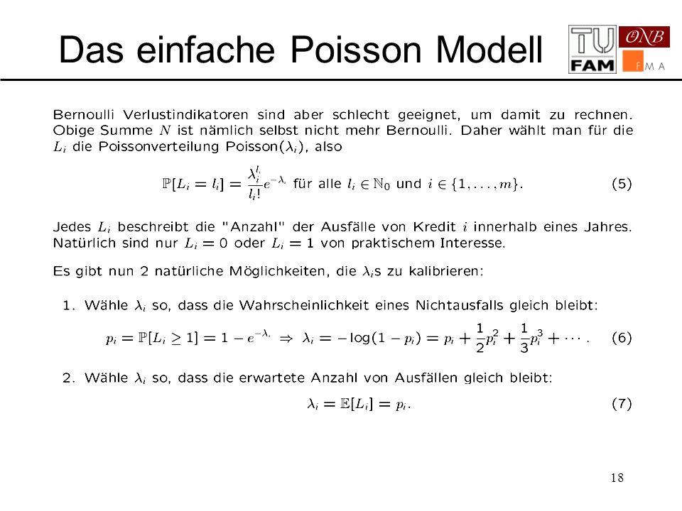 Das einfache Poisson Modell