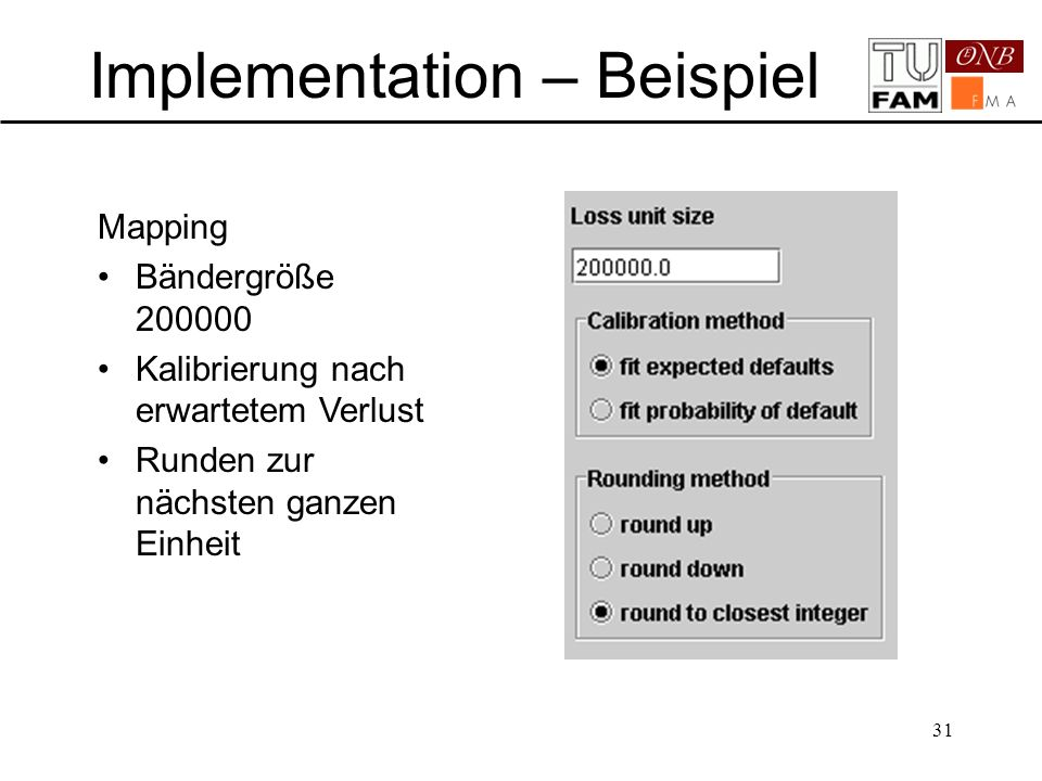 Implementation – Beispiel