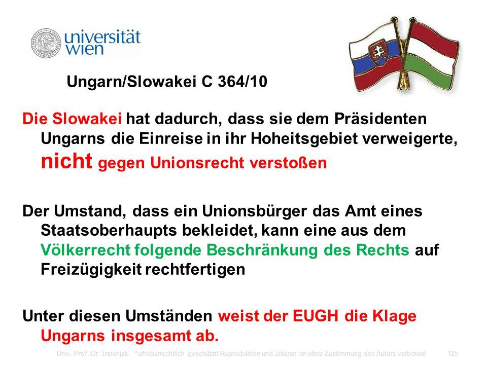 Ungarn/Slowakei C 364/10