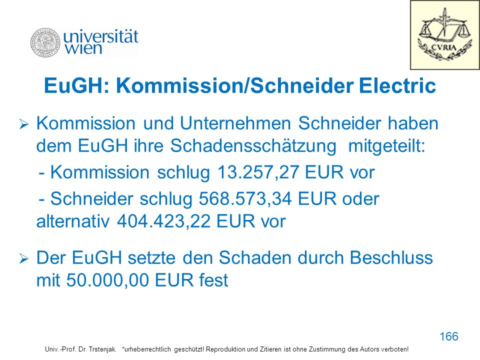 EuGH: Kommission/Schneider Electric