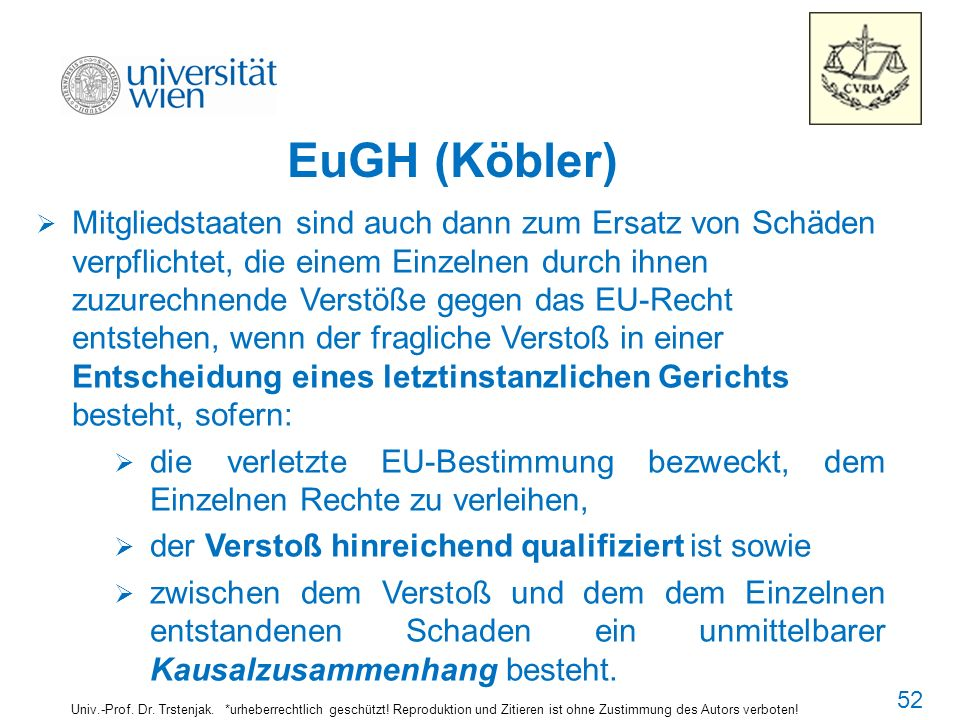 5454 EuGH (Köbler)