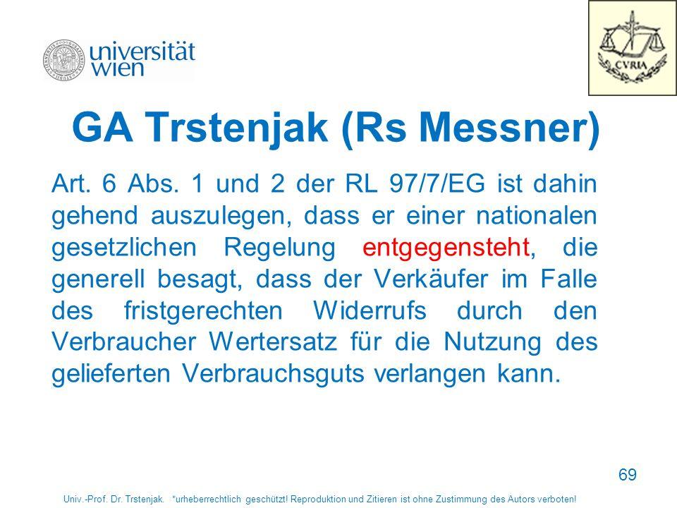 GA Trstenjak (Rs Messner)