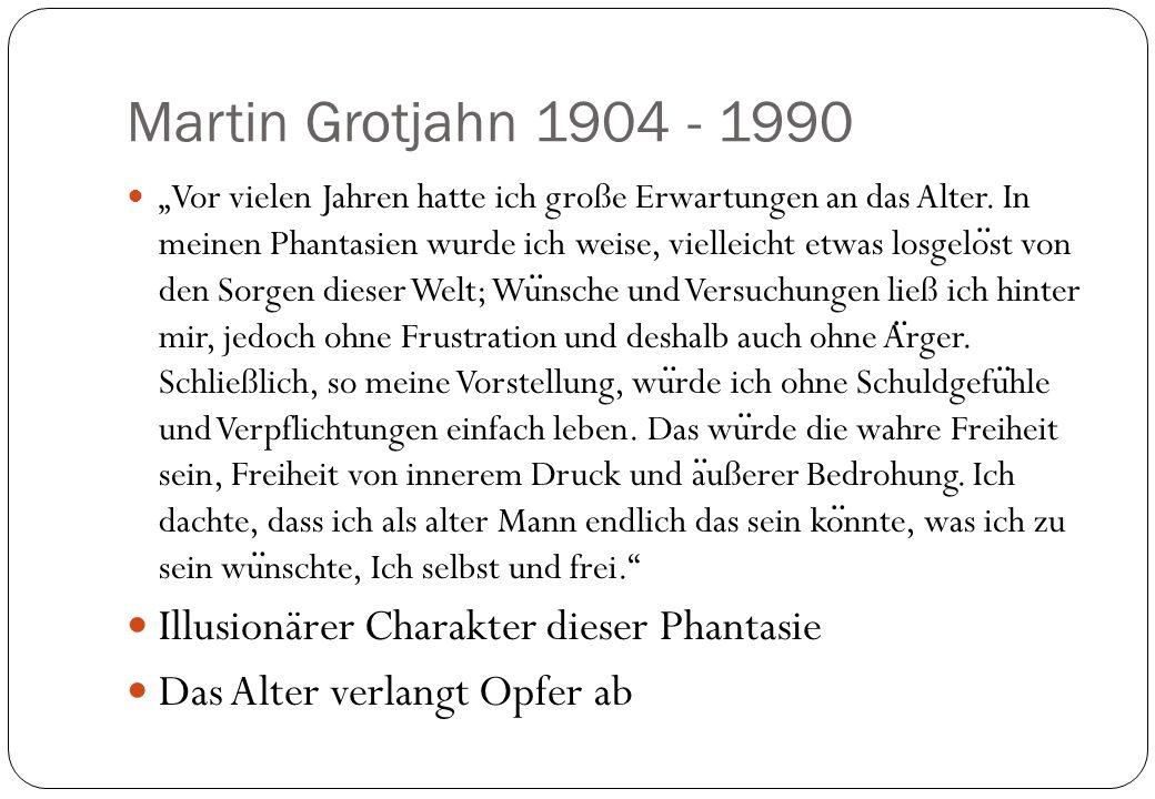 Martin Grotjahn 1904 - 1990 Illusionärer Charakter dieser Phantasie