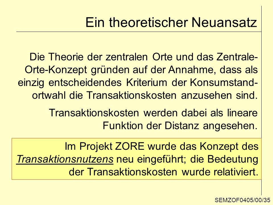 Ein theoretischer Neuansatz
