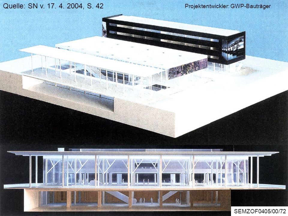 Bürocenter Wals Quelle: SN v. 17. 4. 2004, S. 42 ZOREBericht5/2/56