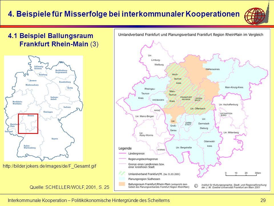4. Beispiele für Misserfolge bei interkommunaler Kooperationen