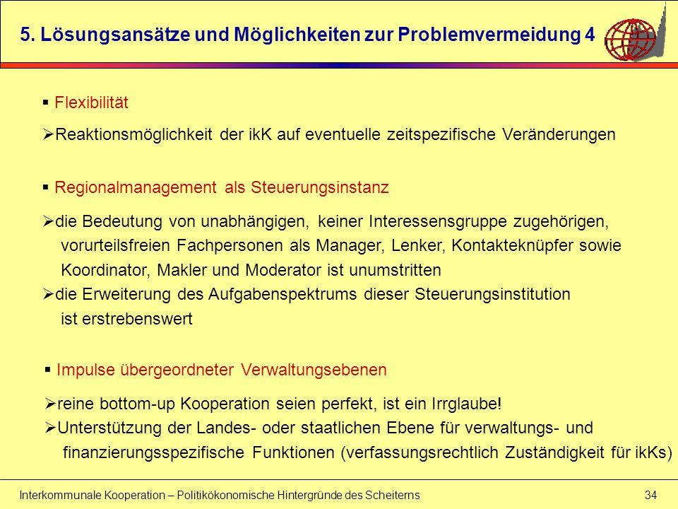 5. Lösungsansätze und Möglichkeiten zur Problemvermeidung 4