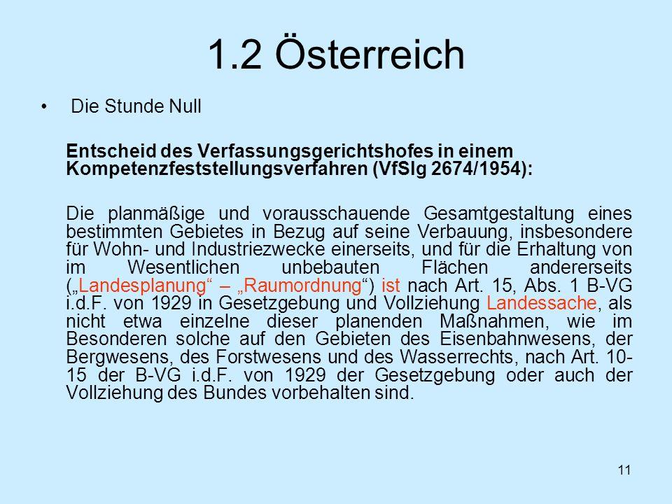 1.2 Österreich Die Stunde Null