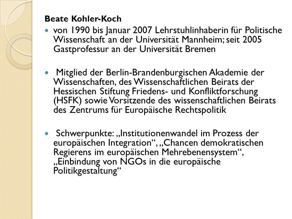 Beate Kohler-Koch