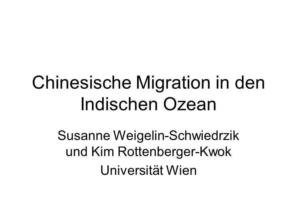 Chinesische Migration in den Indischen Ozean