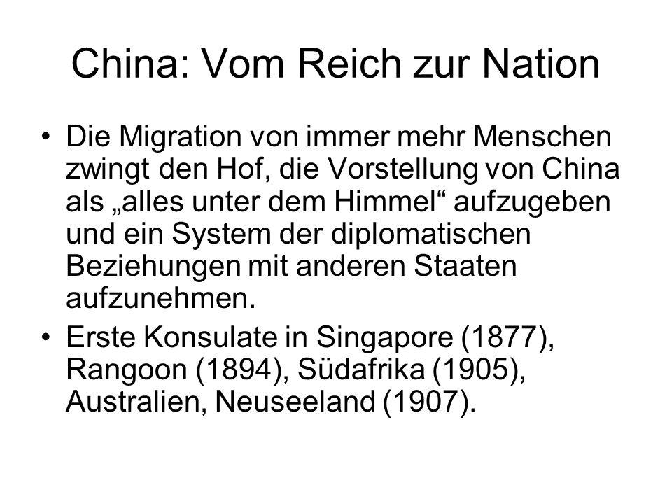 China: Vom Reich zur Nation