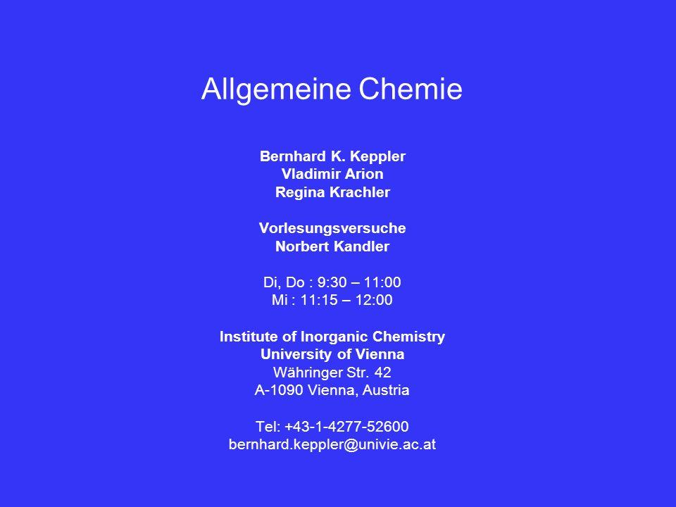 Institute of Inorganic Chemistry