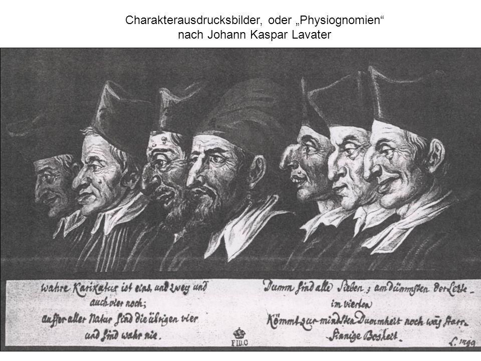 "Charakterausdrucksbilder, oder ""Physiognomien"