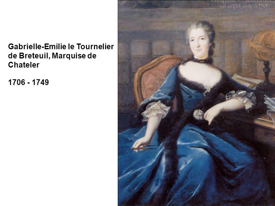 Gabrielle-Emilie le Tournelier de Breteuil, Marquise de Chateler
