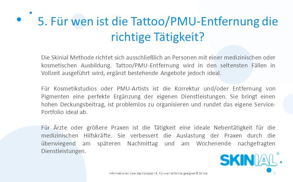 5. Für wen ist die Tattoo/PMU-Entfernung die richtige Tätigkeit