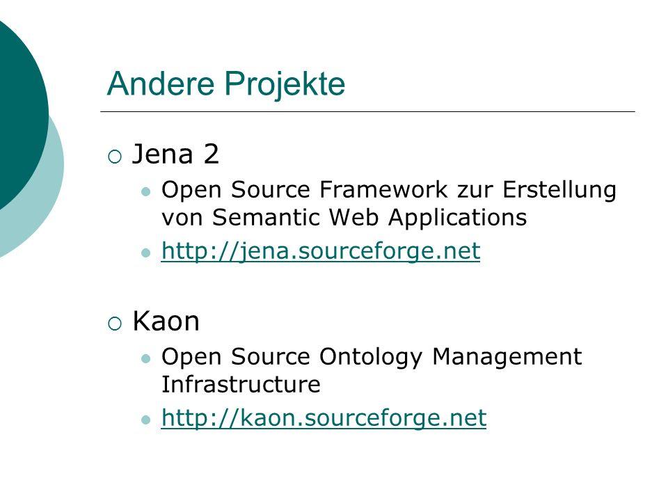 Andere Projekte Jena 2 Kaon