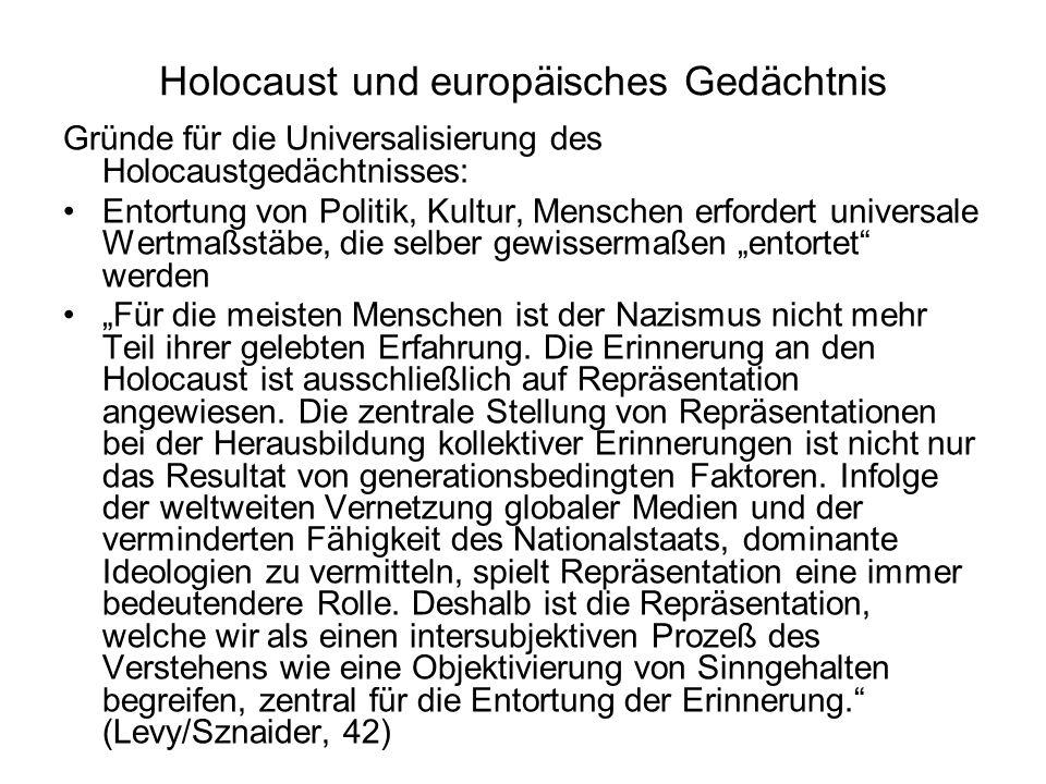 Holocaust und europäisches Gedächtnis