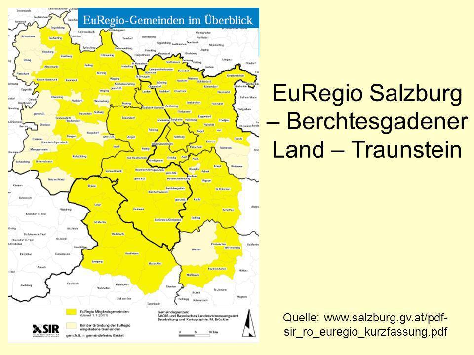 EuRegio Salzburg – Berchtesgadener Land – Traunstein