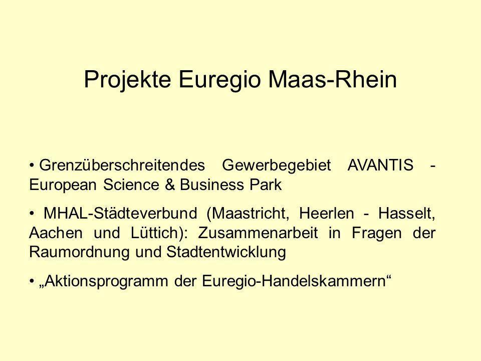 Projekte Euregio Maas-Rhein