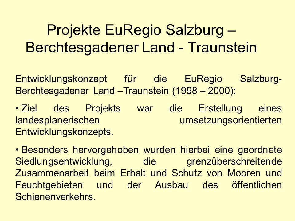Projekte EuRegio Salzburg – Berchtesgadener Land - Traunstein