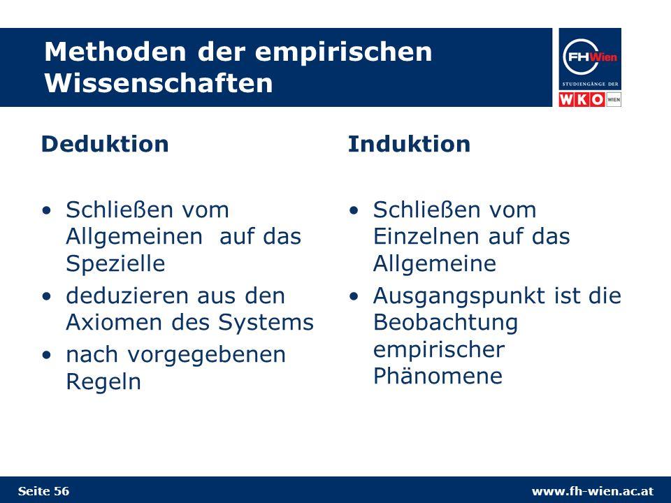 Methoden der empirischen Wissenschaften