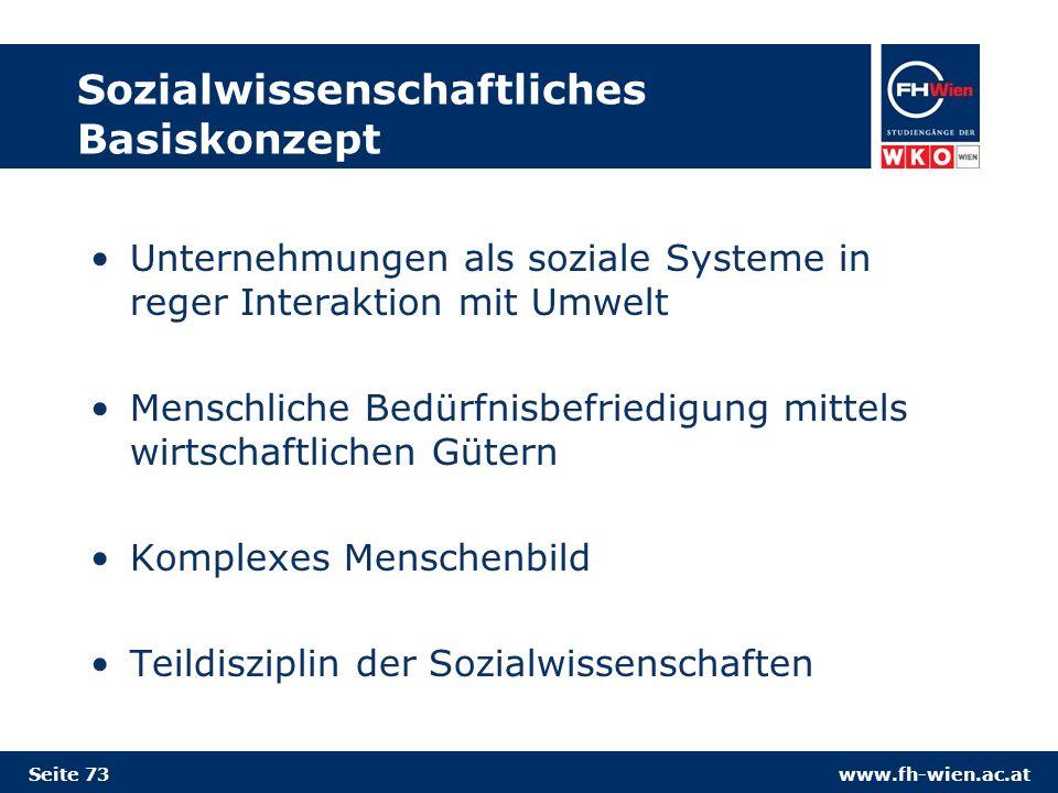 Sozialwissenschaftliches Basiskonzept